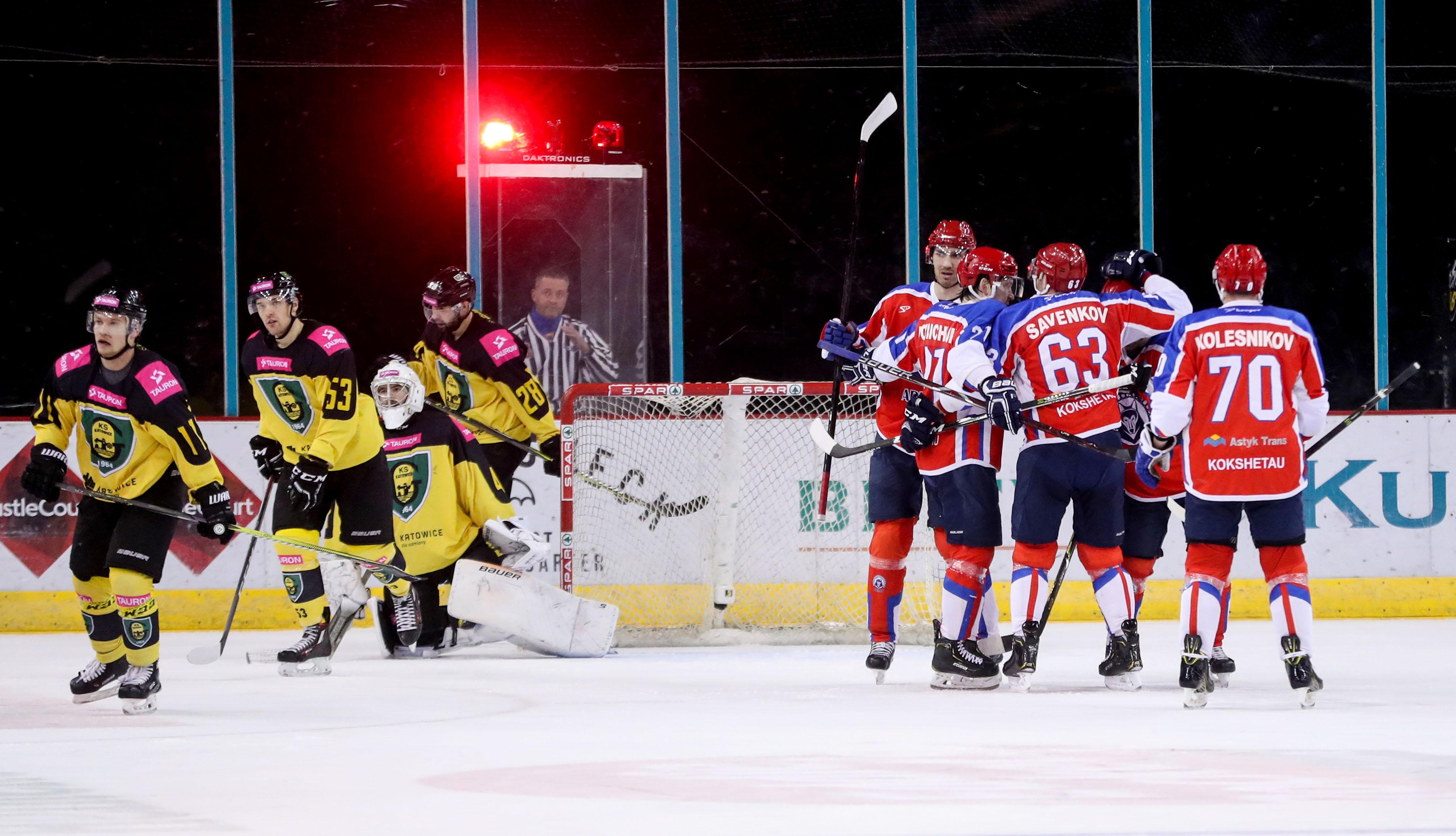 Continental Cup Final - GKS Katowice vs Arlan Kokshetau