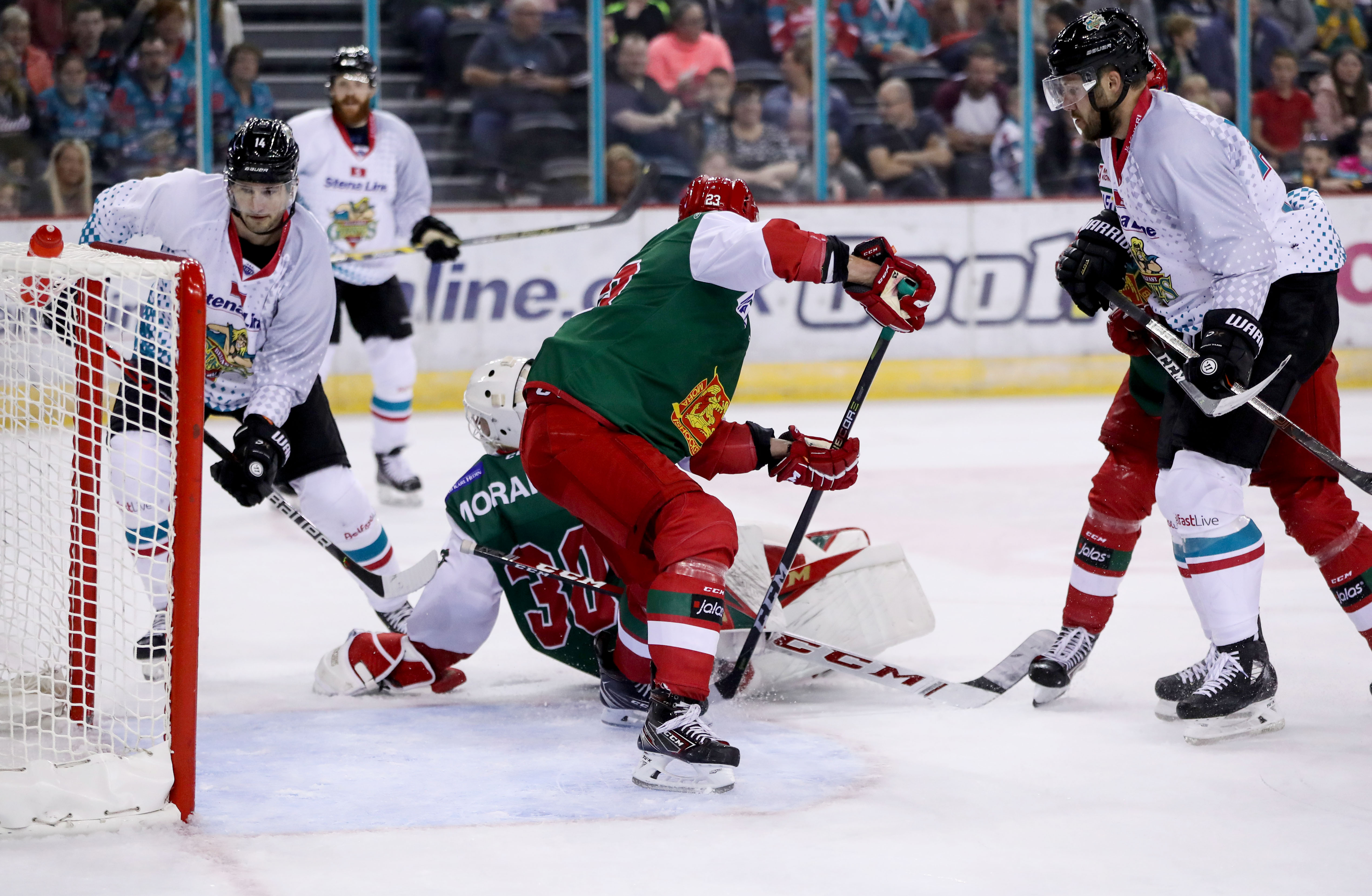 Belfast Giants v Mora IK - International Exhibition game